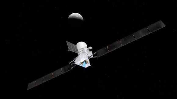 El primer encuentro de BepiColombo con Mercurio